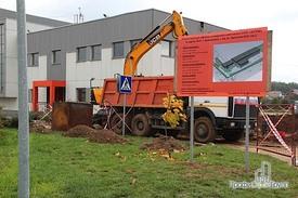 Земляные работы и демонтаж фундамента лестницы