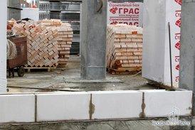 Монтаж каркасов складской и офисной части