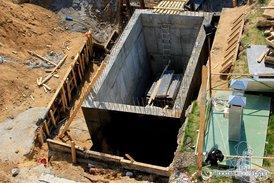 Строительство пожарного резервуара