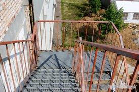 Монтаж пожарной лестницы
