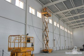 Монтаж системы отопления складской части комплекса