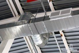 Система вентиляции склада