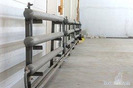 Система отопления склада