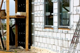 Крепления для установки фасадного утепления
