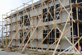 Вентилируемый фасад офисного здания