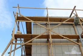 Готовая часть фасада