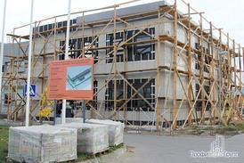 Офисное здание комплекса. Общий вид.