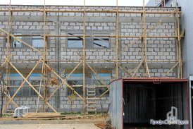 Замена фасада старого офиса