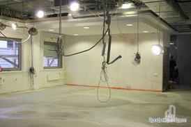 Замена вентиляции, кондиционера в старом помещении офиса и наливные полы