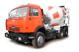 Автобетоносмеситель (миксер бетона) КамАЗ