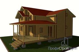 Жилой дом двухэтажный с подвалом