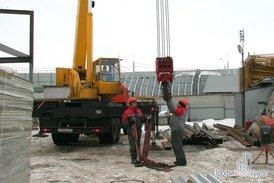 Монтаж металлоконструкций офисно-складского комплекса