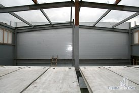 Строительство офисно-складского комплекса.